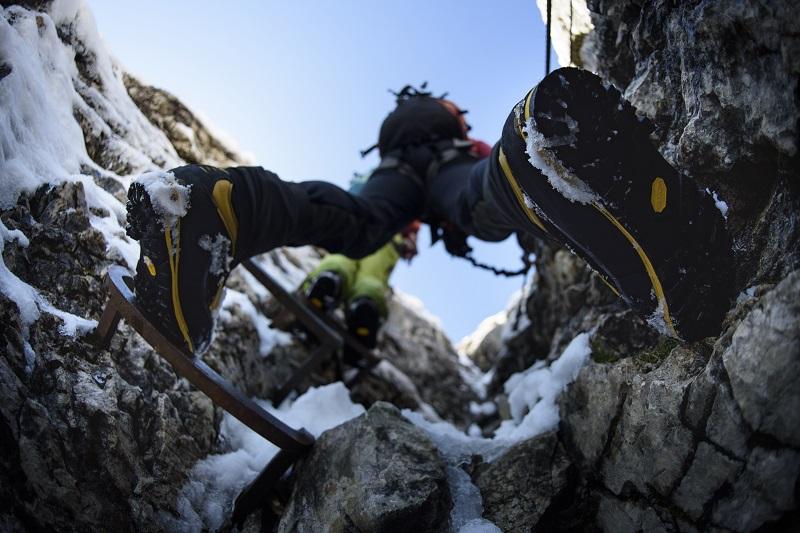 Klettersteigset Leihen Garmisch : Klettersteigführung auf die alpspitze mit bergführer alpinschule